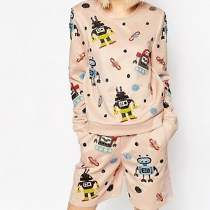 ❤ HOST PICK ❤ ASOS Bead and Mesh Pink Robot Set